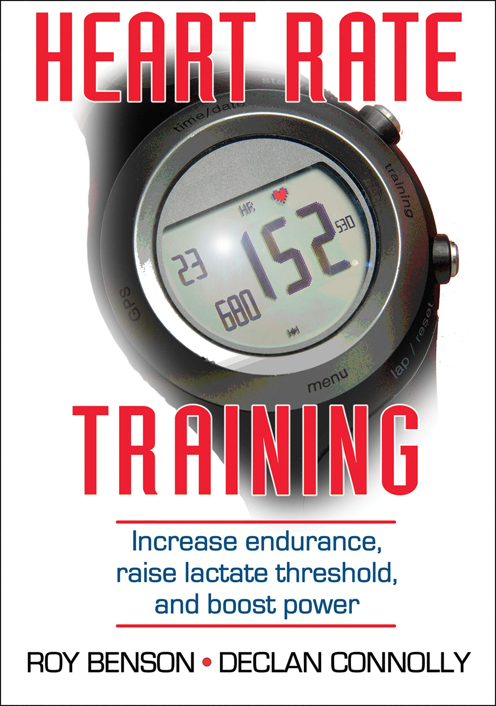 Heart Rate Training Roy Benson Declan Connolly 9780736086554