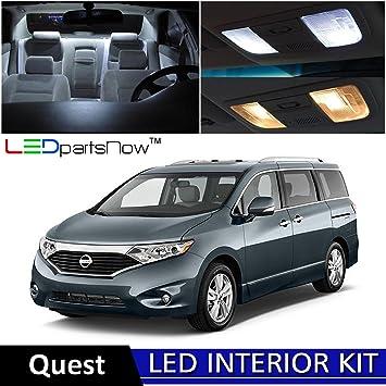 Amazon Ledpartsnow 2011 2016 Nissan Quest Led Interior Lights