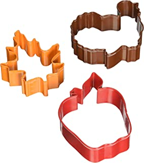 R&M International 0392 Thanksgiving 3-Piece Cookie Cutter Set in Organza Gift Bag, Turkey