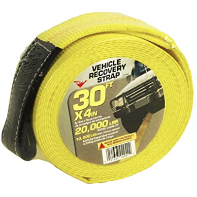 """KEEPER 02942 30' x 4"""" Recovery Strap: Automotive"""