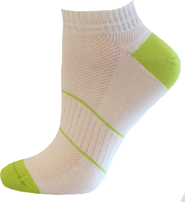 Womens Cotton Blend Soft Ped Low Cut Socks 3 Pairs