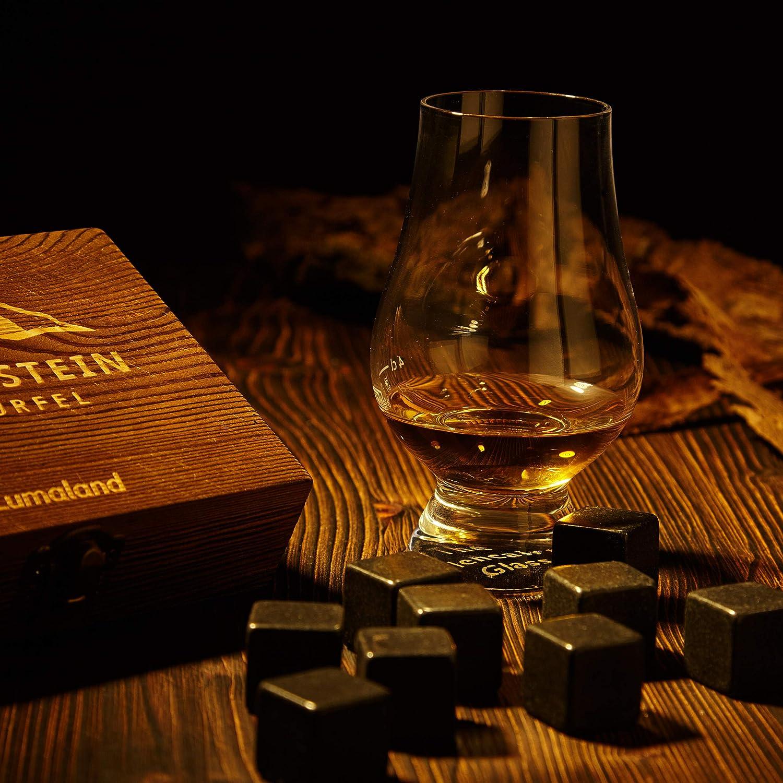 Lumaland Whiskey Stones in Un Set di 6 per Un Autentico godimento del Tuo Whisky