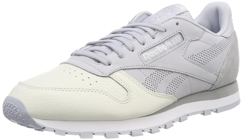 Reebok Herren Classic Leather Ue Gymnastikschuhe  39 EU|Grau (Cloud Grey/Chalk/Stark Grey/White)