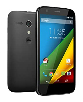 8c49d70bf88 Moto G 4G SIM-Free Smartphone - Black (8GB) - Discontinued by manufacturer