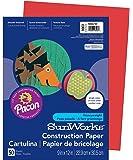 Pacon SunWorks 建筑纸 50-count 假日红
