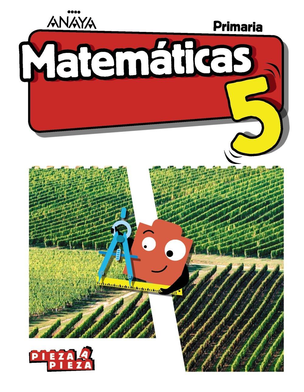 Matemáticas 5 Pieza A Pieza Primero Segundo Y Tercer Trimestre Ferrero De Pablo Luis Martín Martín Pablo Quevedo Blasco Víctor José Gómez Quesada José Manuel Amazon Es Libros
