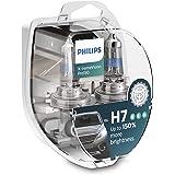 Par Lampada Philips X-treme Vision Pro H7 3400K 150% + Luz