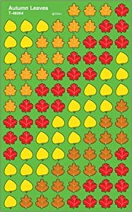 Trend Enterprises Inc. Autumn Leaves superShapes Stickers, 800 ct
