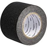AmazonCommercial Anti-Slip Tape, 4-Inch x 30-Feet Grip Tape, Black, 8-Pack
