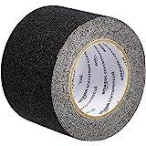 AmazonCommercial Anti-Slip Tape, 4-Inch x 30-Feet Grip Tape, Black, 2-Pack