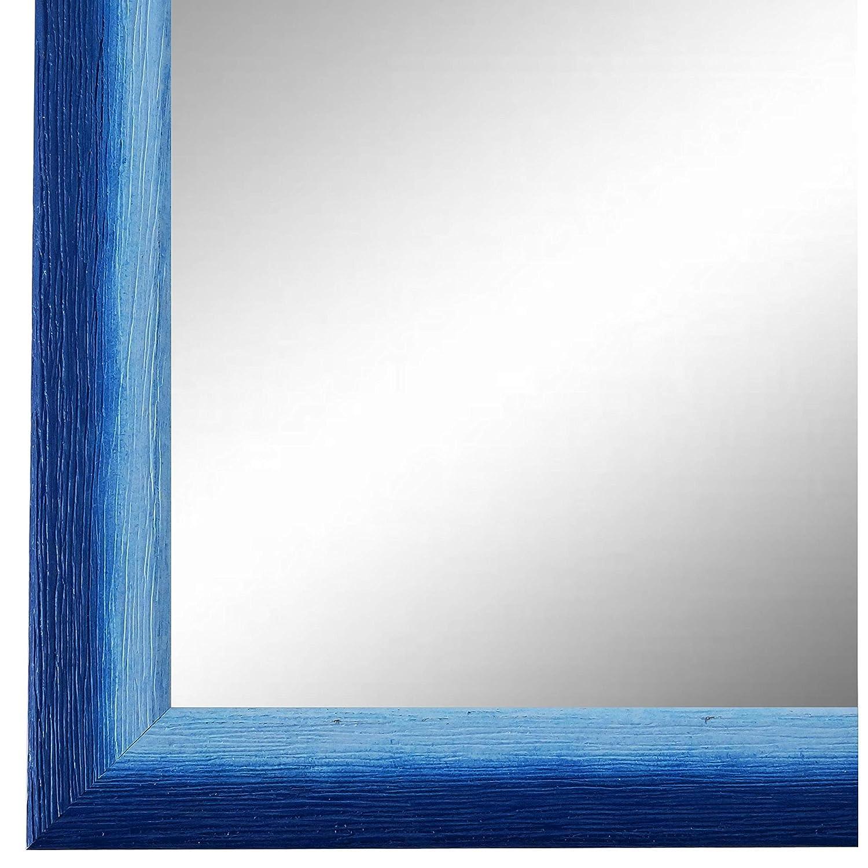 Online Galerie Bingold Spiegel Wandspiegel Blau 60 x 60 cm - Modern, Vintage, Shabby - Alle Größen - Made in Germany - AM - Pinerolo 2,3