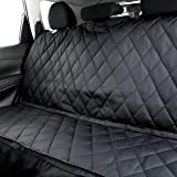 Plush Paws Products Waterproof Dog Car Seat Cover for Compact Cars — Non-Slip, Heavy-Duty, and Scratch-Proof with…