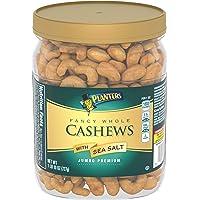 Planters Fancy Whole Cashews With Sea Salt, 1.63 lb Jar