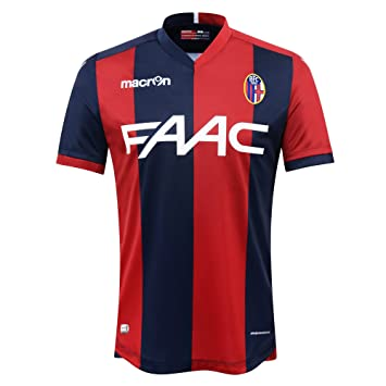 176fd41c7b5 Bologna FC 1909 ® Original Macron Home Jersey (Kurzarm) – Unisex (BFC home  football shirt – Official Merchandise Gift Present Fan Shirt (Authentic ...