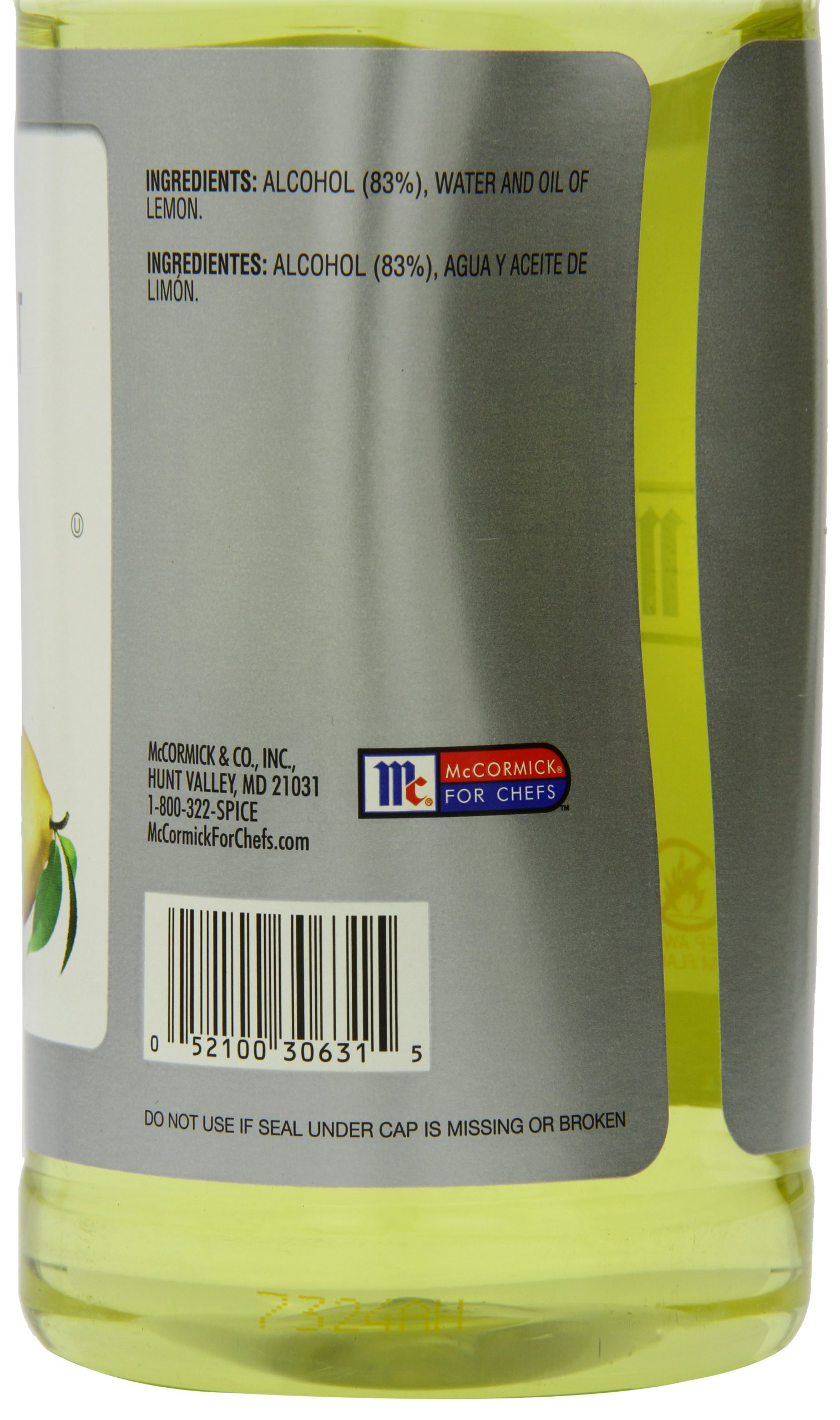 McCormick Culinary Pure Lemon Extract, 32 fl oz by McCormick (Image #2)