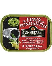 Connétable Sardine Spratus Huile Olive 106 g