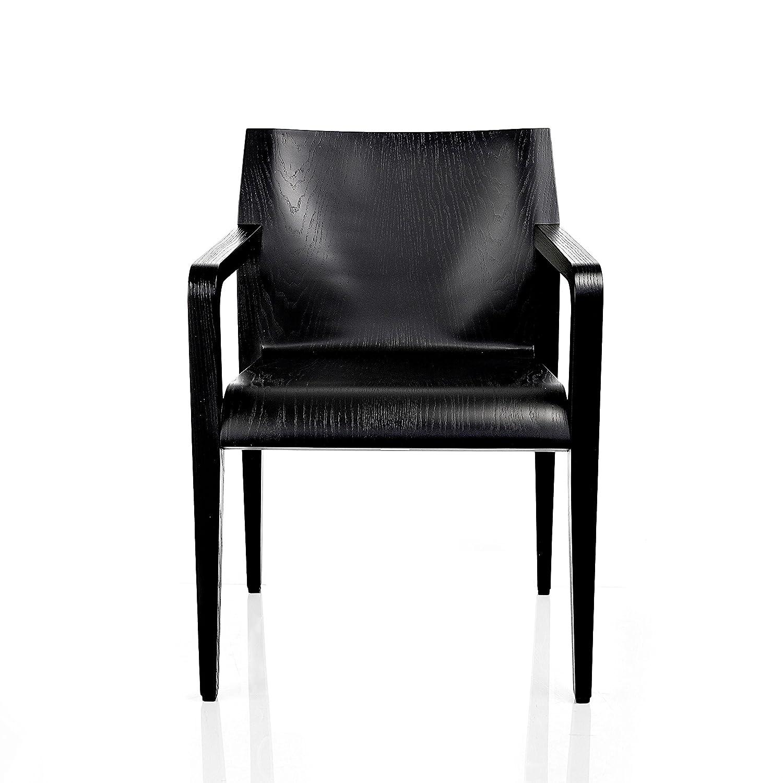 Alias 304 Laleggera Armlehnstuhl, esche schwarz gebeizt
