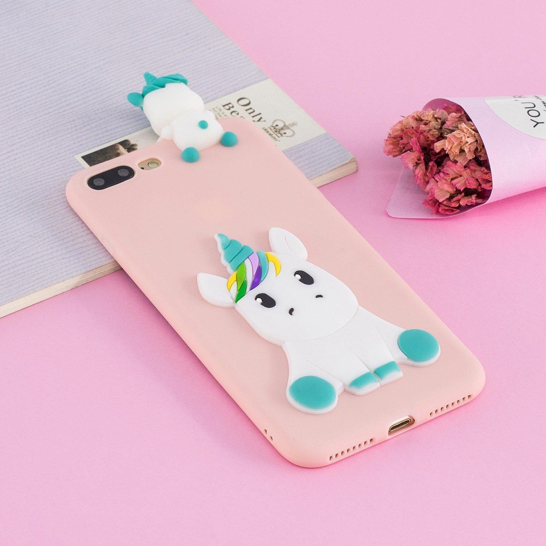 coque iphone 8 silicone mignonne