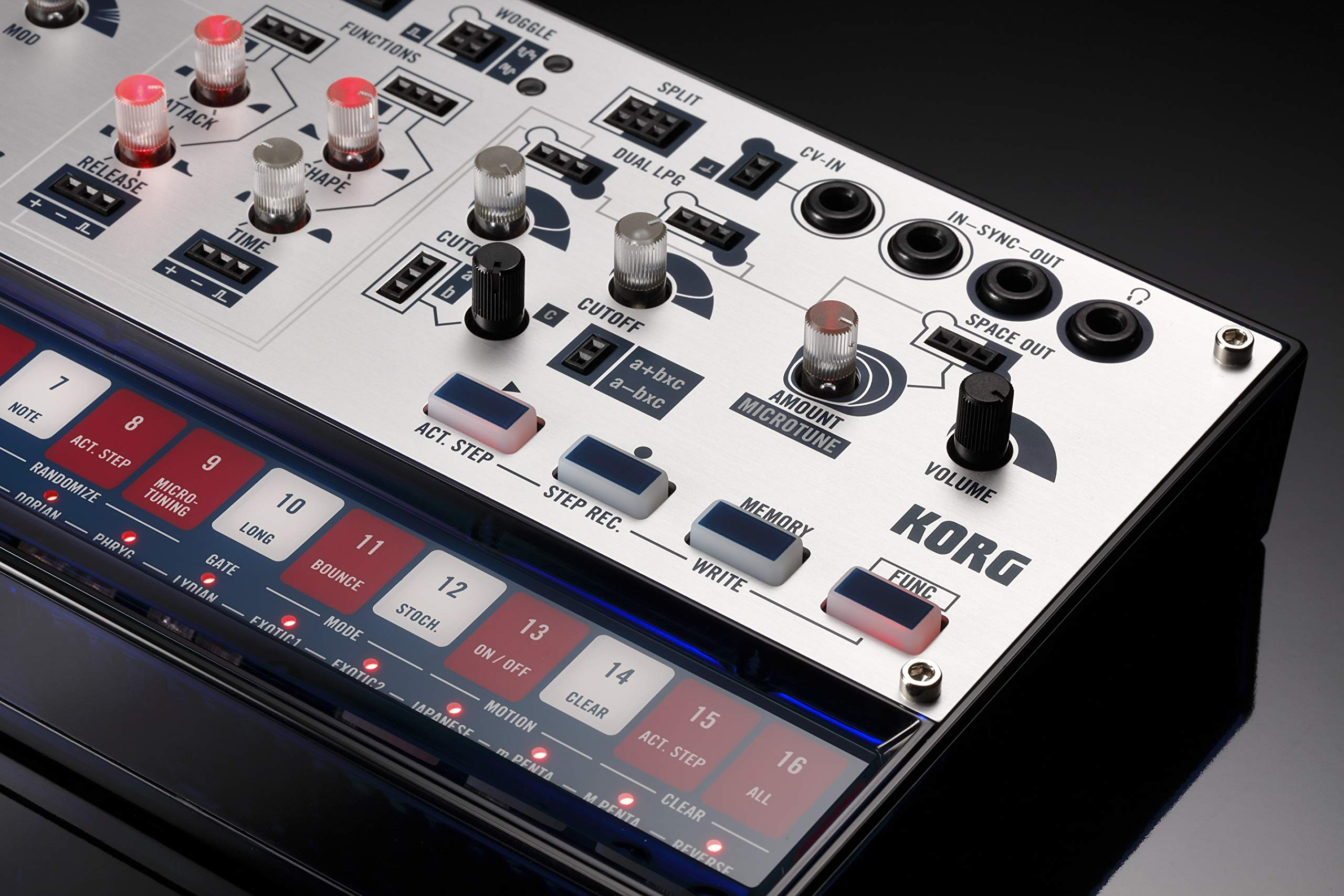 Korg Volca Modular Semi-Modular Synthesizer with Sequencer by Korg (Image #13)