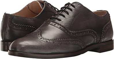 c9c183eed710 Massimo Matteo Women s Oxford Wing Tip Burnished Grey Oxford