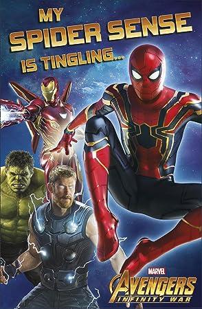 Tarjeta de cumpleaños de los Vengadores Infinity «My Spider ...