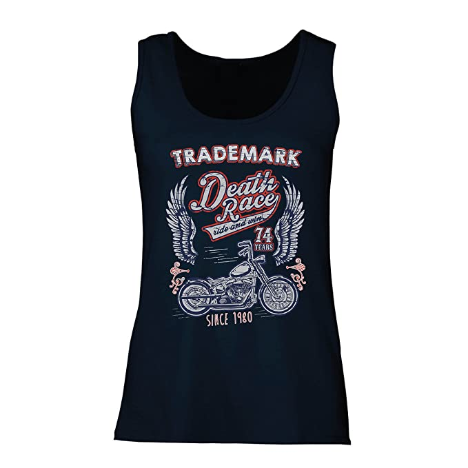 Amazon.com: lepni.me Womens Tank Top Death Race - Ride and ...