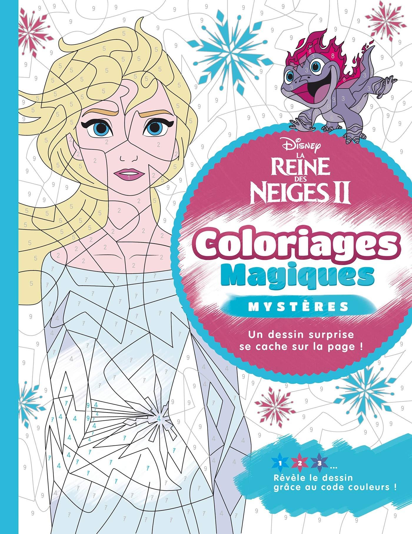 La Reine Des Neiges 2 Coloriages Magiques Mysteres Amazon Fr Disney Livres