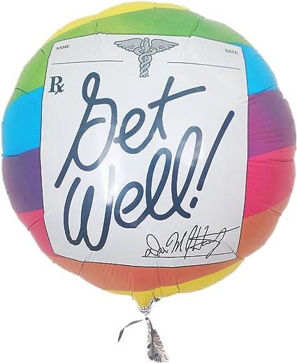 18 Get Well Soon Foil Balloon BL237