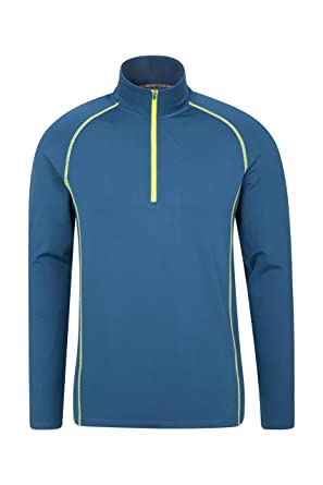 e165bbac0 Mountain Warehouse Breeze Men s Bike Top - Highly Breathable Summer Tshirt