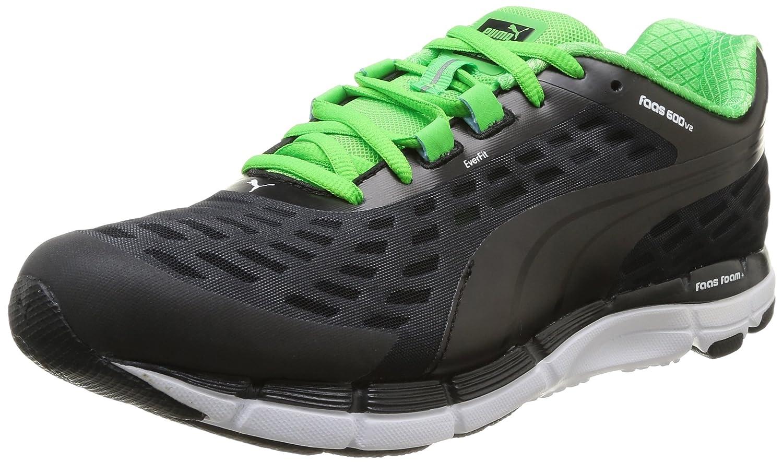 Puma Faas 600 V2 - Zapatillas de running 40 EU|Noir (Black/Fluo Green)