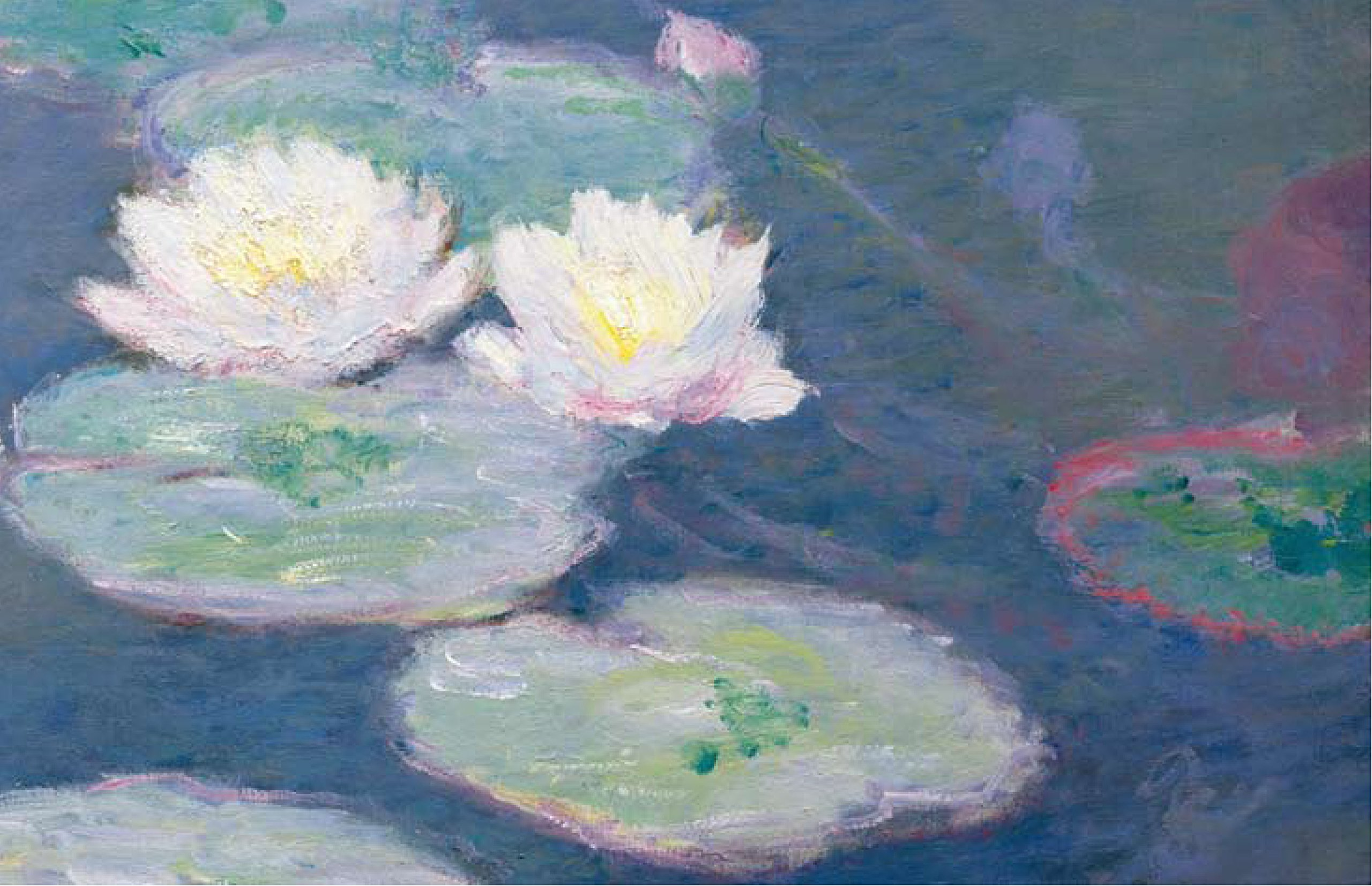 monets waterlilies essay The claude monet is one of the most popular assignments among students' documents if you are stuck with writing or missing ideas, scroll down and find inspiration in the best samples claude monet is quite a rare and popular topic for writing an essay, but it certainly is in our database.