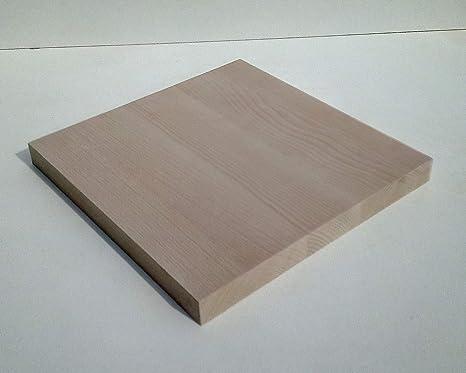 600x500x29mm stark. Holzplatte Bretter Leisten Sonderma/ße. 1 Massivholzplatte Kernbuche 29mm stark