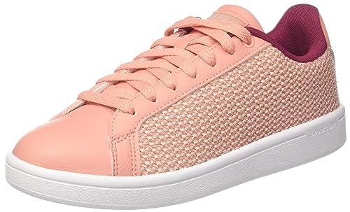 adidas CF Advantage Cl W, Zapatillas para Mujer, Rosa (Trace Pink/Mystery Ruby), 42 EU: Amazon.es: Zapatos y complementos