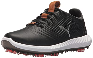 PUMA Golf Boys  Ignite Pwradapt Kid s Golf Shoe Black c485d368c