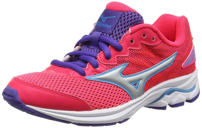Mizuno Wave Rider 20 Jr, Chaussures de Running Entrainement Entrainement Running Fille 33 EU|Rose (Diva Pink/Silver/Liberty) 540dfa