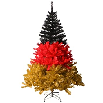 weihnachtsbaum deko rot gold neujahrsblog 2020. Black Bedroom Furniture Sets. Home Design Ideas