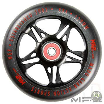 Madd Gear MFX - Ruedas de Metal para Patinete (120 mm ...