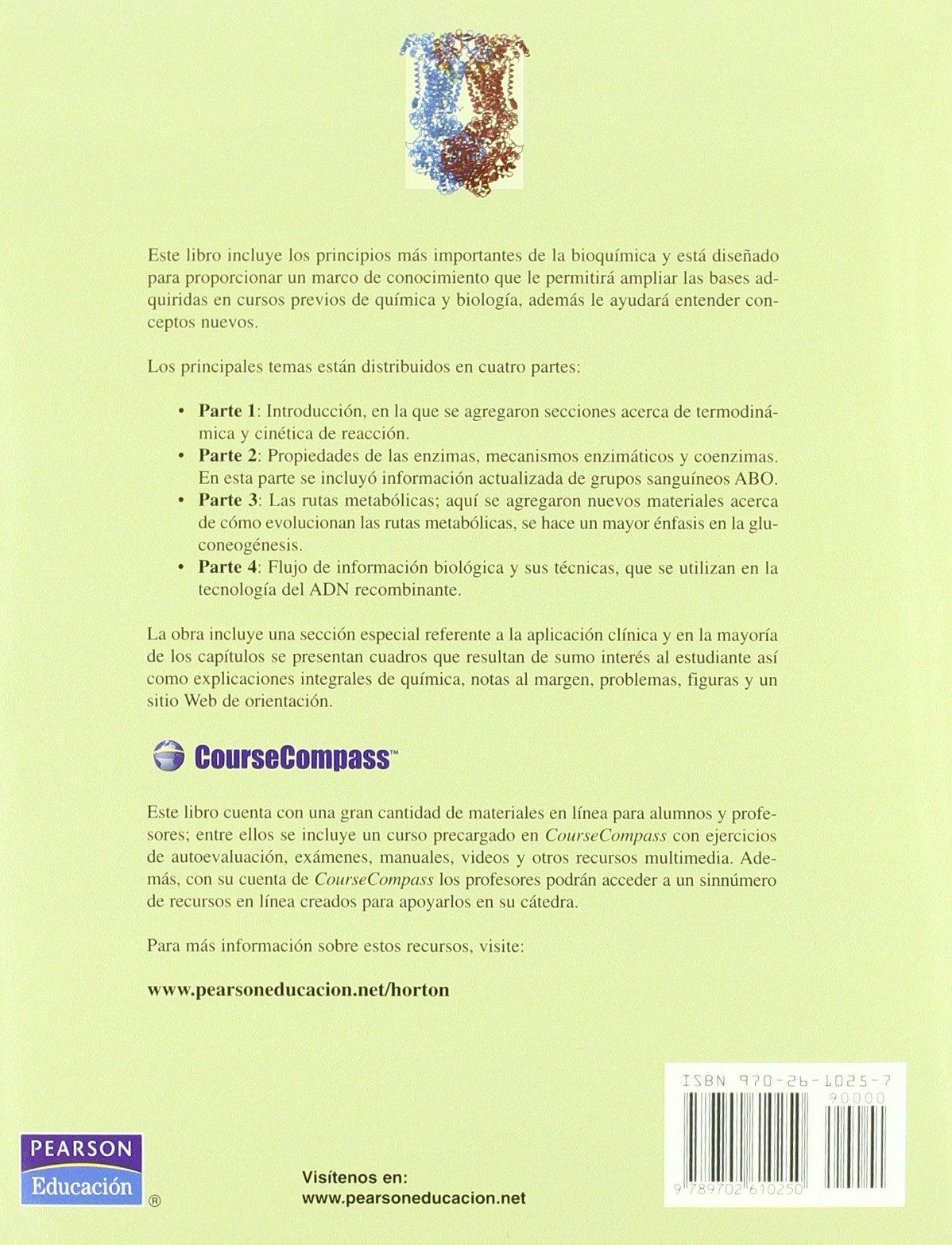Principios de bioquímica 4ED: Amazon.es: H. Horton: Libros