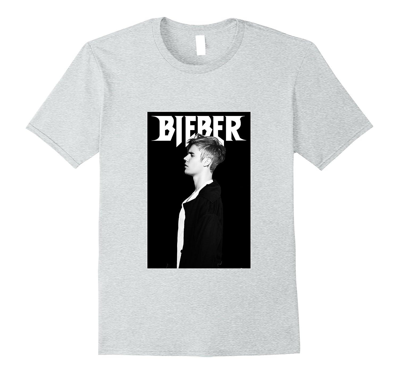 Mens Justin Bieber Profile T-Shirt-ah my shirt one gift
