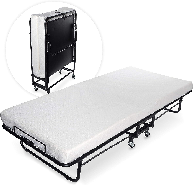 - Amazon.com: Milliard Premium Folding Bed With Luxurious Memory