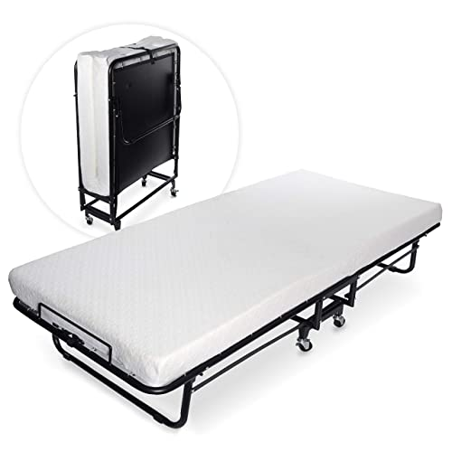 Milliard Premium Folding Bed With Luxurious Memory Foam Mattress U2013 Perfect  Guest Bed Featuring A Super