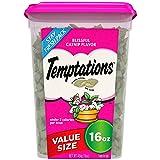 TEMPTATIONS Classic Cat Treats, Blissful Catnip Flavor, 16 oz. Tub (Tamaño: 16 oz)