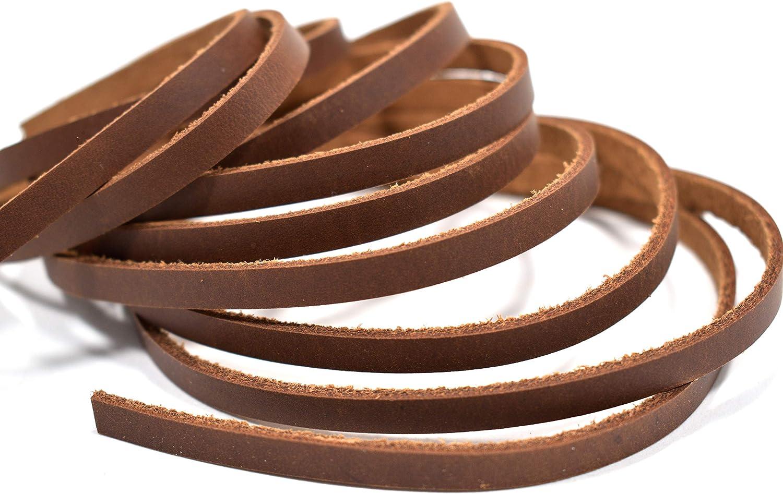 1//2 x 84 BLACK OIL TANNED Leather Strip 5-6 oz LeatherRush