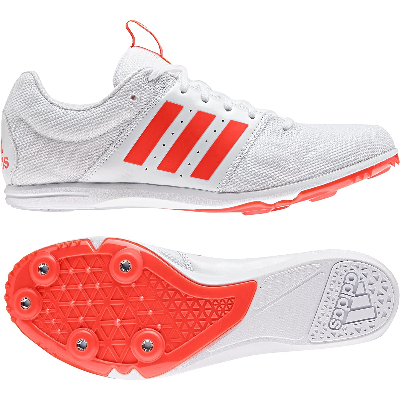 various colors 3d5ec bca25 adidas Allroundstar Junior Running Spikes, White, AU4.5  Amazon.com.au   Fashion