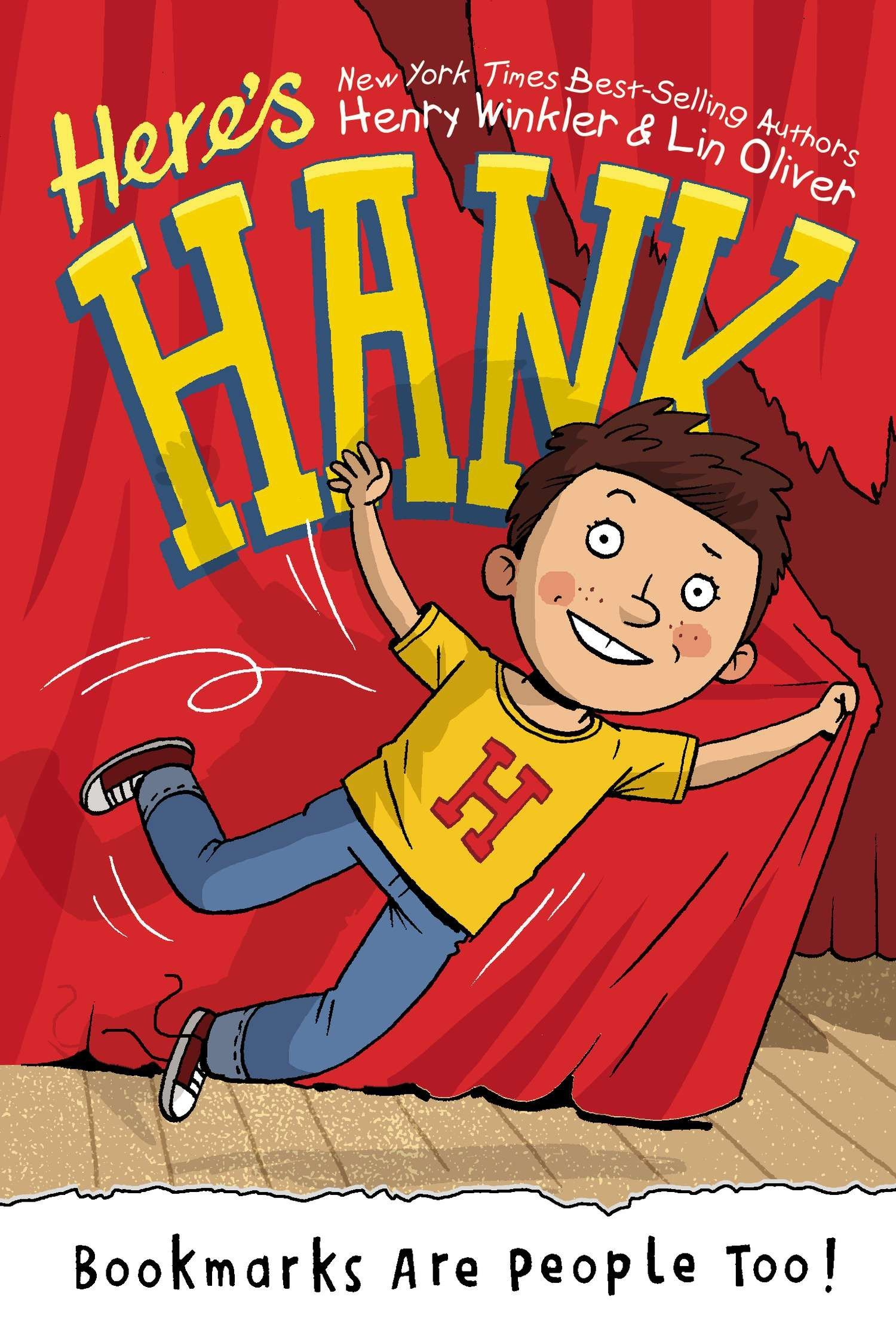 The Best Chapter Books for 1st Graders featured by top Seattle lifestyle blogger, Marcie in Mommyland: Here's Hank
