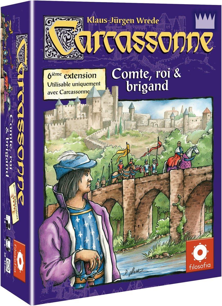 Asmodée - Juego de Estrategia, para 6 Jugadores (CARC08) (Importado): Amazon.es: Juguetes y juegos