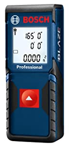 Bosch GLM165-10 Blaze One Laser Distance Measure, 165'