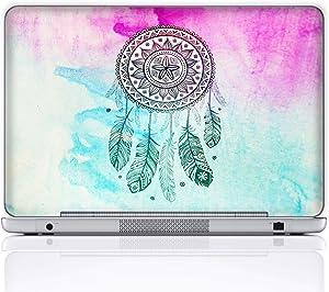 Meffort Inc 15 15.6 Inch Laptop Notebook Skin Sticker Cover Art Decal (Included 2 Wrist pad) - Dream Catcher