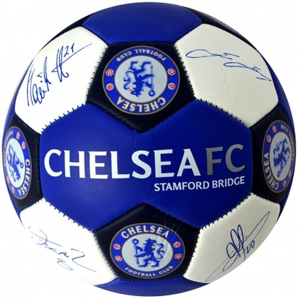Chelsea FC - Balón de fútbol oficial de Chelsea FC tamaño 3 ...