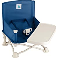 hiccapop Omniboost Travel Booster Seat with Tray for Baby | Folding Portable High Chair for Eating, Camping, Beach, Lawn…